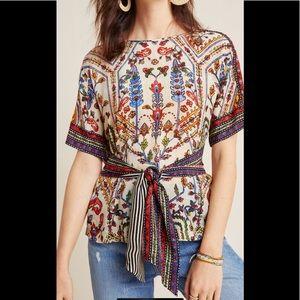 Anthropologie Vinest Bahl Meknes blouse